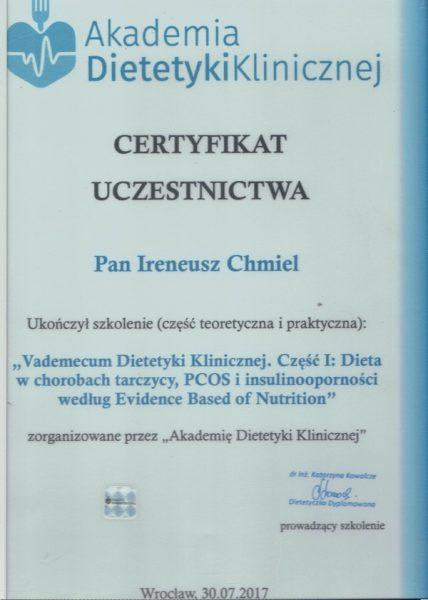Dieta w chorobach tarczycy, PCOS i insulinoooporności według Evidence Based of Nutrition