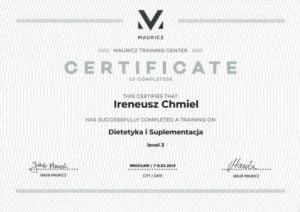 Dietetyka i suplementacja - poziom 3