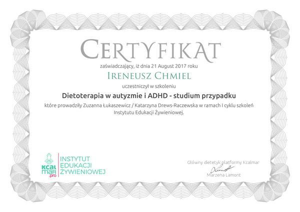 Dietoterpia w autyzmie i ADHD - studium przypadku-1