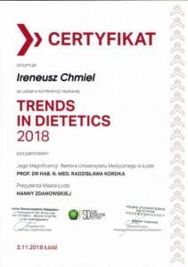 Trends in Dietetics