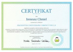 DIAGNOSTYKA I DIETOTERAPIA CUKRZYCY TYPU-1